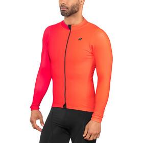 Biehler Thermal Rain Koszulka z długim rękawem Mężczyźni, farbwechsel red